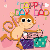 Happy day, Dad Royalty Free Stock Photos