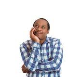 Happy daydreaming man Stock Photo