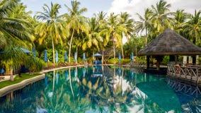 Happy days in Maldive Royalty Free Stock Photos