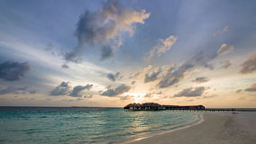 Happy days in Maldive Stock Photography