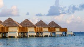 Happy days in Maldive. Enjoy the beautiful beach and sea in Maldive Stock Photography