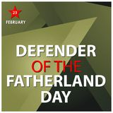 Background Russian national holiday of february 23. Happy Defender of the Fatherland Day. Designs for posters, backgrounds, cards,. Banners, stickers, etc. EPS vector illustration