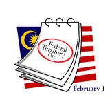 Background Malaysia national holiday of february 1. Federal territory day. Designs for posters, backgrounds, cards, banners, stick. Ers, etc. EPS file available vector illustration