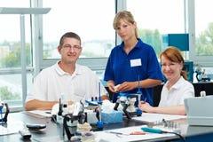 Happy dental technicians Royalty Free Stock Photography