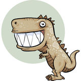 Happy Dinosaur Stock Photography