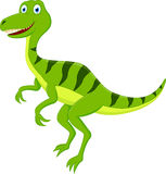 Happy Dinosaur cartoon Stock Image
