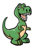Happy dinosaur cartoon Royalty Free Stock Photography