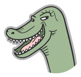 Happy dinosaur Stock Photo
