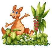 A happy dinosaur Stock Photography