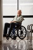 Happy Disabled Senior Man Royalty Free Stock Photography