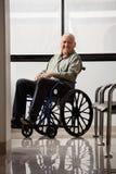 Happy Disabled Senior Man Royalty Free Stock Photography