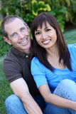 Happy Diverse Couple Royalty Free Stock Image