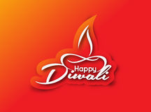 Happy Diwali Background Royalty Free Stock Photos