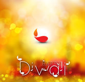 Happy Diwali Background. Abstract  illustration on the theme of the traditional celebration Stock Photos