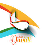 Happy Diwali Background. Abstract vector illustration on the theme of the traditional celebration royalty free illustration