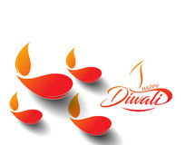 Happy Diwali Background Royalty Free Stock Photography