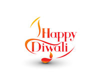Happy Diwali Background. Abstract vector illustration on the theme of the traditional celebration Royalty Free Stock Images