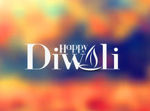 Happy Diwali Background. Abstract vector illustration on the theme of the traditional celebration stock illustration