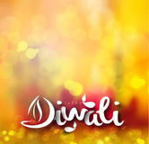 Happy Diwali Background. Abstract vector illustration on the theme of the traditional celebration Royalty Free Stock Photos