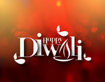 Happy Diwali Background. Abstract vector illustration on the theme of the traditional celebration Stock Photos