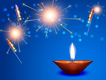 Happy diwali background Royalty Free Stock Image