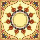 Happy Diwali background with diya Royalty Free Stock Photography