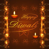 Happy Diwali background festival bright colorful celebration. Illustration Stock Photos