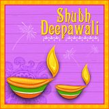 Happy Diwali background Stock Photography
