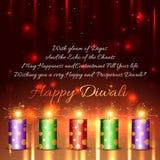 Happy diwali background Stock Photography