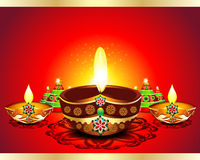 Happy Diwali Background. Vector illustration