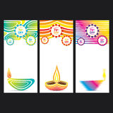 Happy diwali banner design Royalty Free Stock Photo