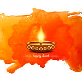 Happy Diwali beautiful background design Royalty Free Stock Photography