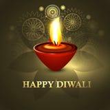 Happy diwali beautiful diya colorful hindu festiva Stock Photos