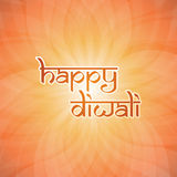 Happy Diwali Card - Vector Background Illustration Royalty Free Stock Image