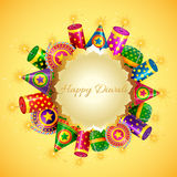 Happy diwali card Royalty Free Stock Image