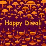 Happy Diwali celebration background. In vector Stock Photos