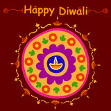 Happy Diwali celebration background. In vector Royalty Free Stock Images