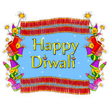 Happy Diwali celebration background. In vector Royalty Free Stock Photography