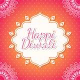 Happy Diwali design Royalty Free Stock Photography