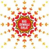Happy diwali festival design Royalty Free Stock Images