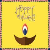 Happy diwali festival design Royalty Free Stock Photography