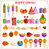 Happy Diwali festival design object Stock Photo