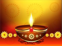 Happy diwali festvial  background Royalty Free Stock Photo