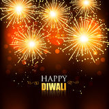 Happy diwali fireworks. Beautiful happy diwali fireworks background