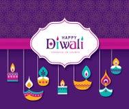 Happy Diwali. Diwali Hindu festival greeting card
