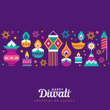 Happy Diwali Stock Image