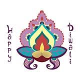 Happy Diwali holiday. Royalty Free Stock Photos