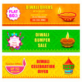 Happy Diwali holiday offer banner Royalty Free Stock Image