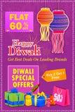 Happy Diwali holiday offer. Vector illustration of Happy Diwali holiday offer Stock Photography