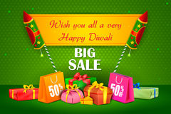 Happy Diwali holiday offer Stock Photos